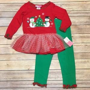 🎄NWT Sophie Rose Christmas 2pc Outfit 🎄